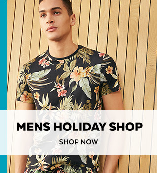 Mens Holiday Shop. Shop Now.